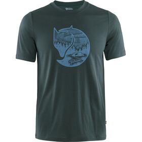 Fjällräven Abisko Fox T-shirt Laine Homme, dark navy